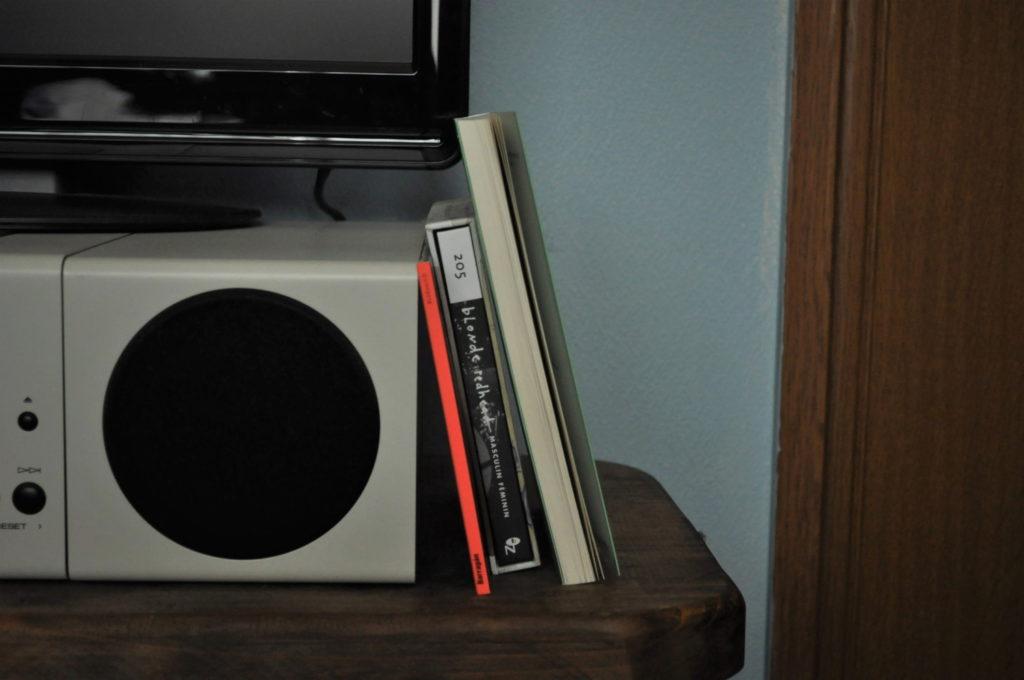 書籍とCDのサイズ比較