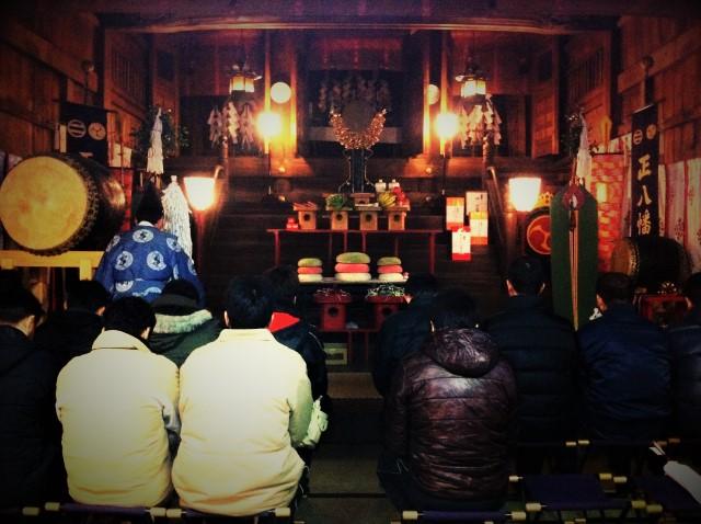 神社での厄除けの儀式