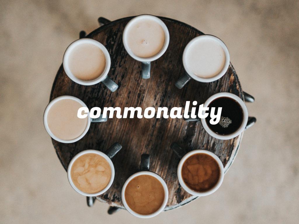 「commonality」のイメージ
