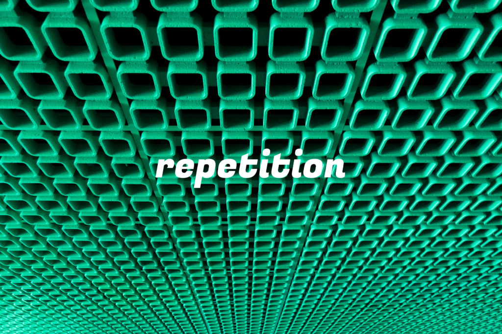 「repetition」のイメージ
