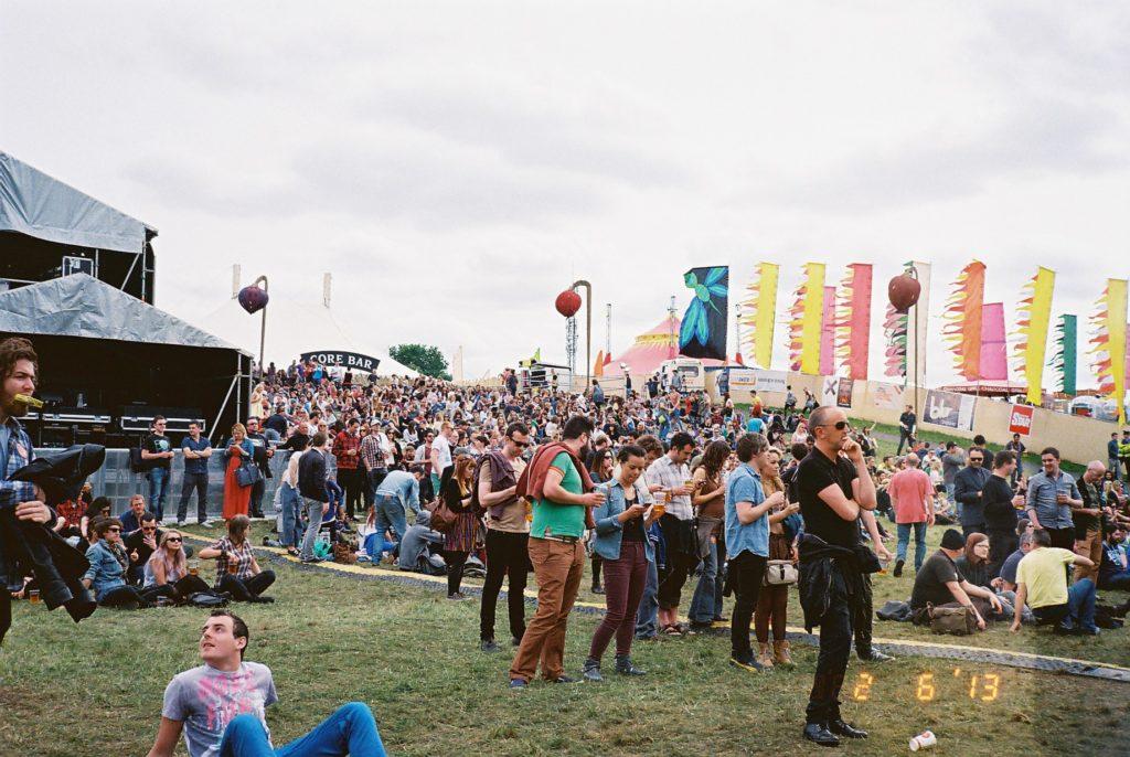 アイルランドの音楽フェス