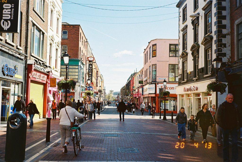 ダブリンのストリート