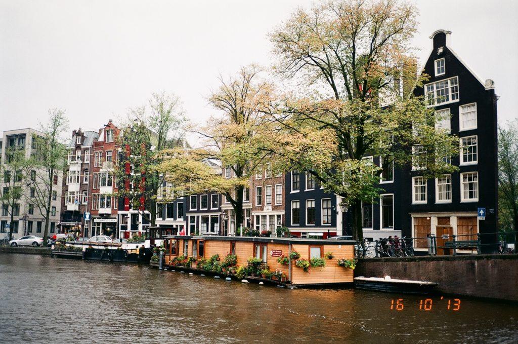 アムステルダムのカナル