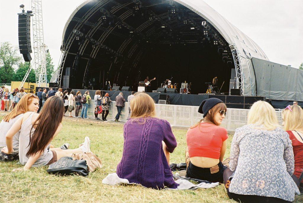 アイルランドの音楽フェスティバル