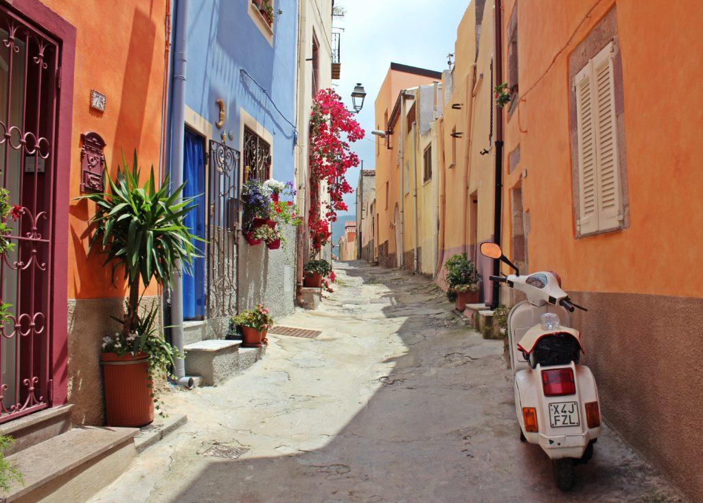 イタリアの町